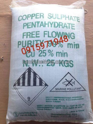 Đồng sulphate CuSO4 - 6500